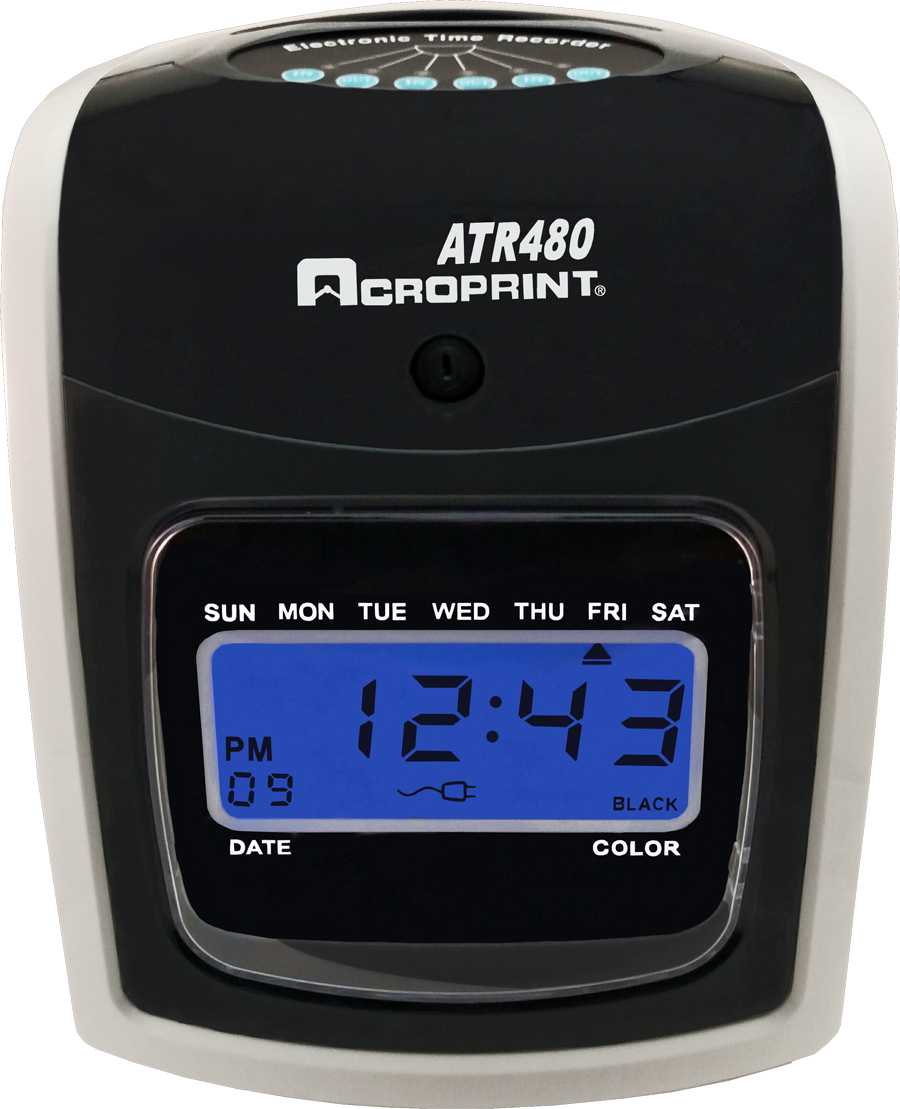 Acroprint ATR480 available at www.raleightime.com