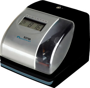 Acroprint Atomic ES700 time clock at www.raleightime.com