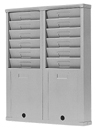 Model 176DBL6, 12 capacity time card rack at www.raleightime.com