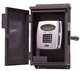 RT-606 Weather Resistant Enclosure at www.raleightime.com