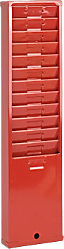 175H time card rack at www.raleightime.com